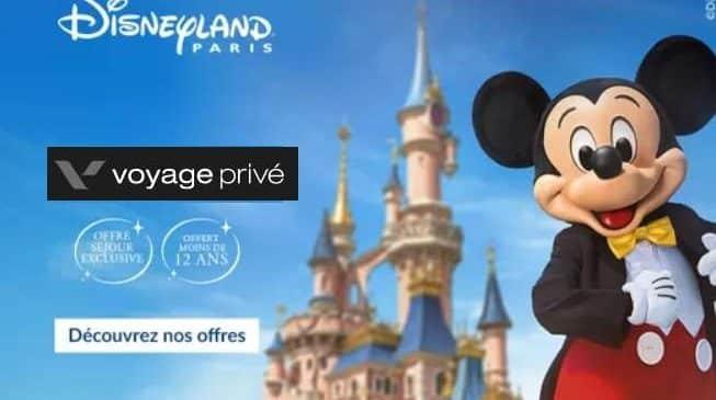 Vente privée de séjours à Disneyland pour payer moins cher votre hôtel