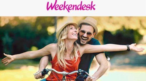 Week-end et séjour en promos cet été Weekendesk