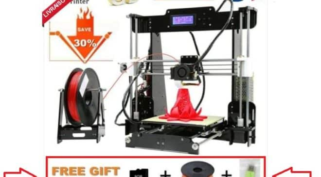 imprimante 3D Anet A8 Printer Kit et 10m de filament GRATUIT