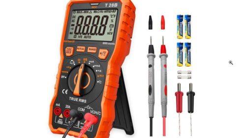 multimètre numérique Lomvum T28B (tension, fréquence, coutant, résistances…)