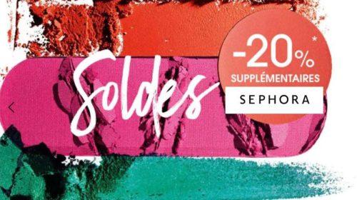 remise en plus sur les Soldes Sephora