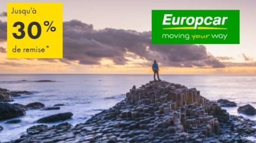 remise sur vos locations de voiture avec Europcar