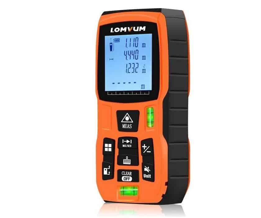 télémètre laser numérique Lomvum LV5800