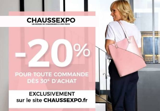 20% de remise sur ChaussExpo
