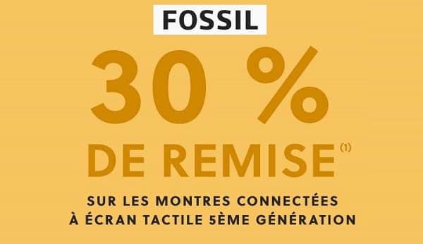 30 % De Remise Sur Les Montres Connectées Fossil
