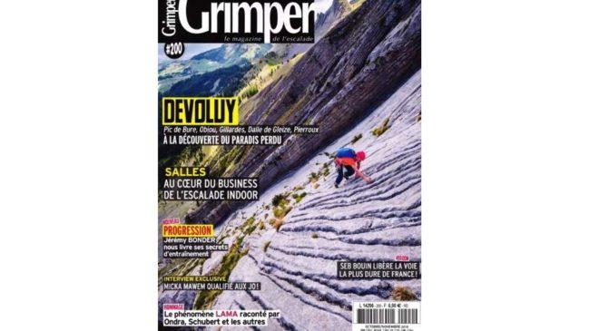 Abonnement au magazine Grimper pas cher