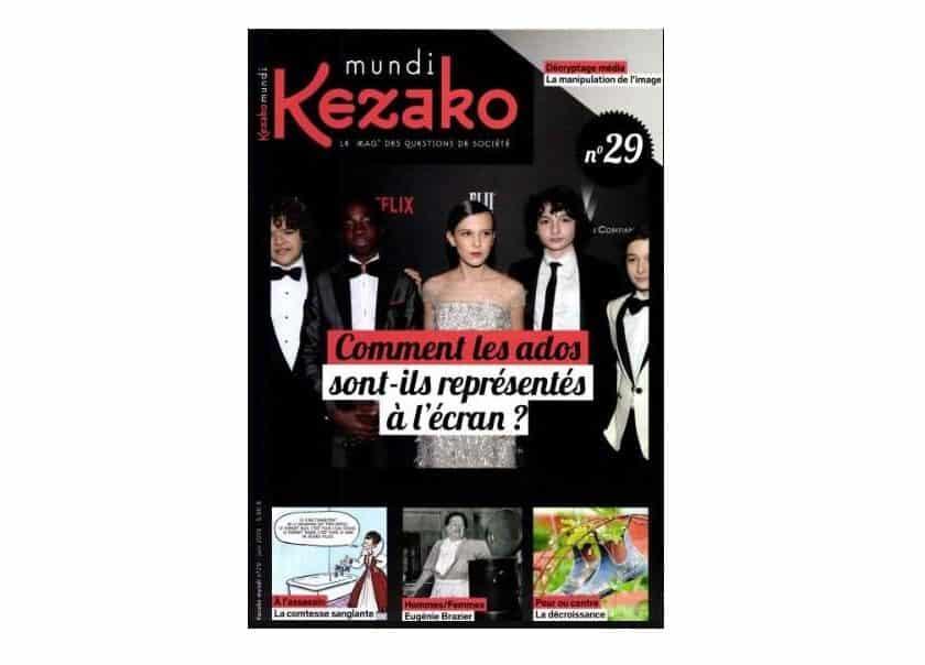 Abonnement magazine Kezako Mundi pas cher