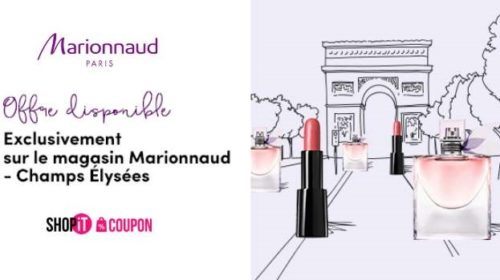 Bon Achat Marionnaud Champs Elysees 5 Pour Obtenir 40 De Remise