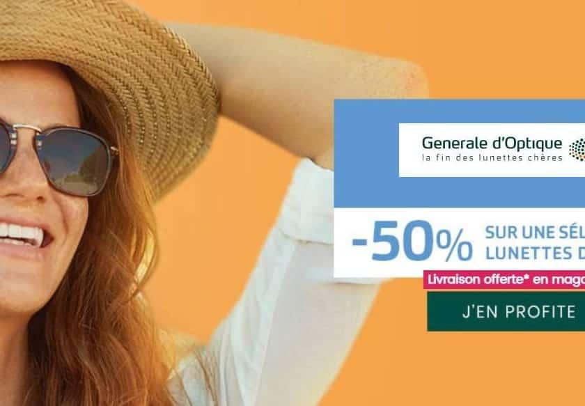 Offre Générale d'Optique lunettes de soleil