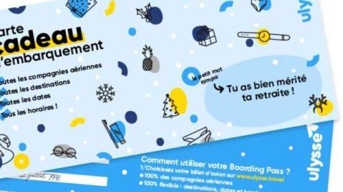 Offrez des billets d'avion pour le monde entier avec la carte cadeau Ulysse