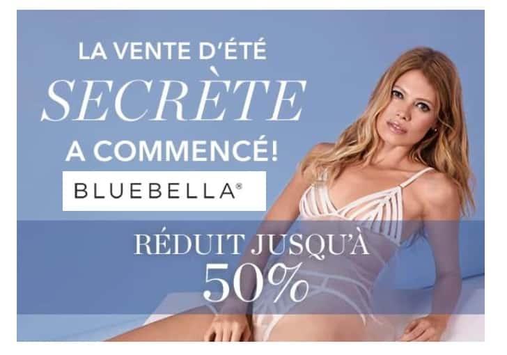 Vente d'Été Secrète Bluebella