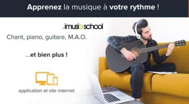 Vente privée imusic-school cours en ligne de musique pas cher