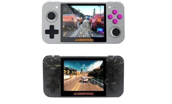 Console De Jeu Vidéo Portable 64 Bits Rg350 Ecran 3,5 Pouces