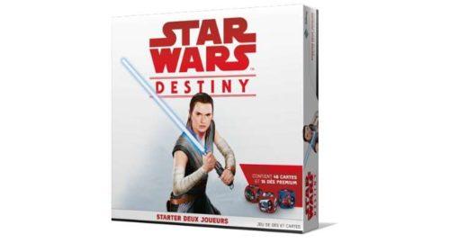jeu de dés et cartes Star Wars Destiny Starter 2 Joueurs