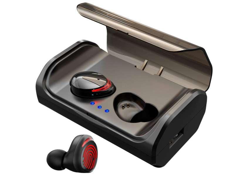 oreillettes Bluetooth sans fils HolyHigh