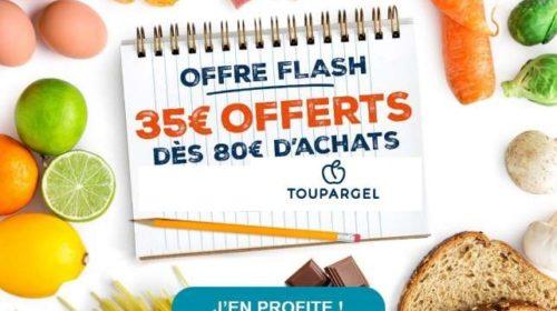 35€ de remise sur Toupargel