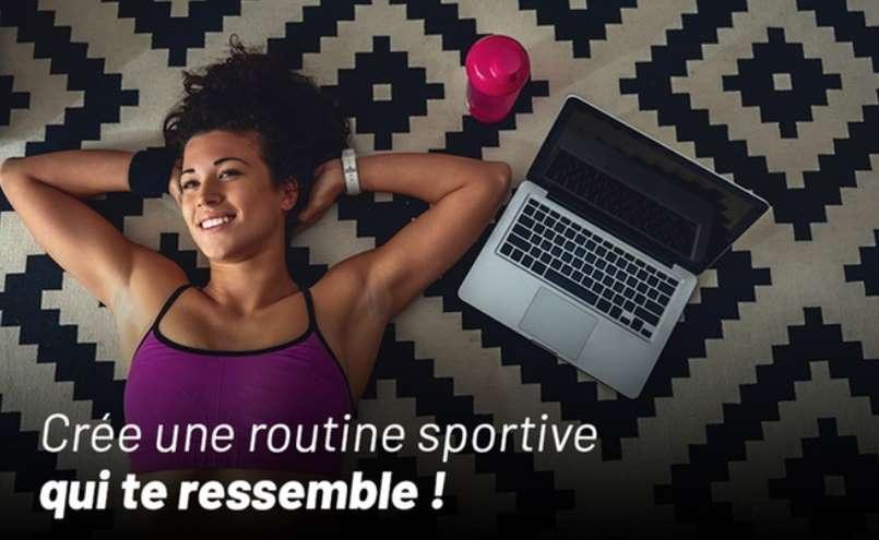 Abonnement cours de sport illimité en live sur Shapin' pas cher