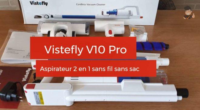 Aspirateur 2 en 1 Vistefly V10 Pro