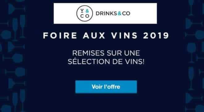 Foire aux vins Drinks and Co 2019
