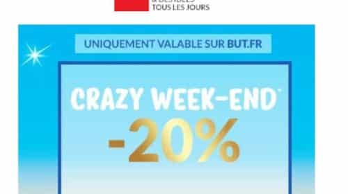 French Days But réduction pour le Crazy Week End