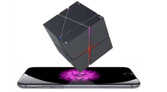 PROMO enceinte Bluetooth Magic Cube Elegiant portable