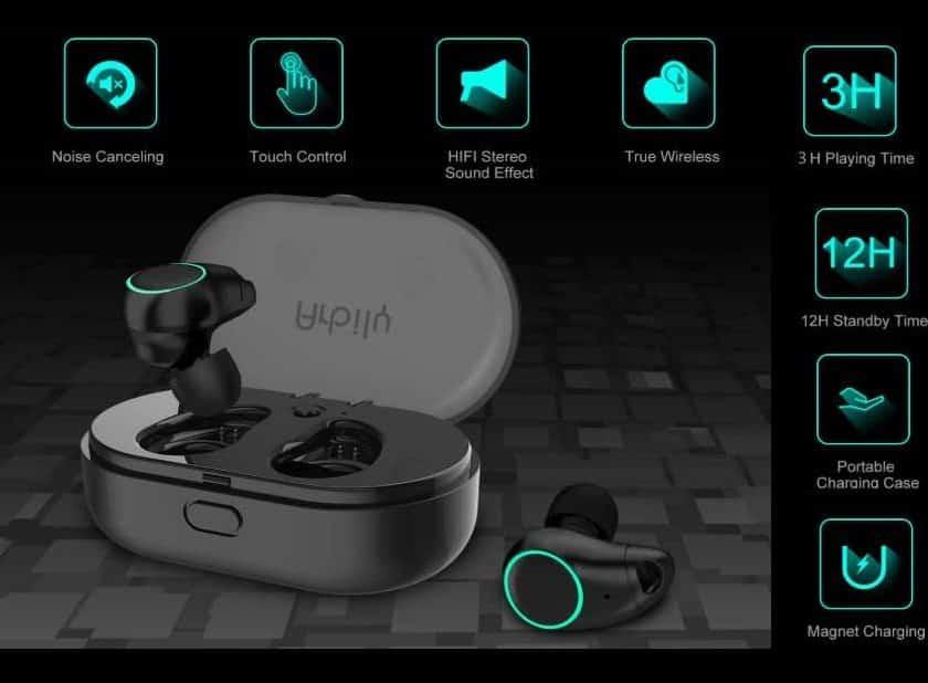 PROMOTION écouteurs Bluetooth sans fils Arbily i7