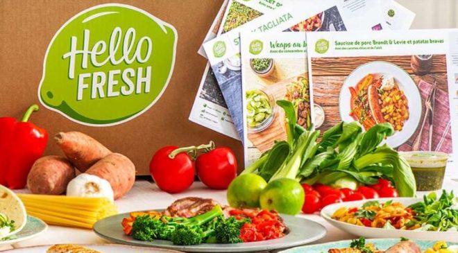 Panier repas frais à cuisiner livré chez vous à moitié prix avec HelloFresh