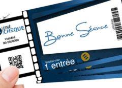 Ticket de cinéma CinéChèque à tarif réduit