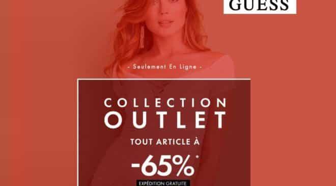 Tous les articles de Outlet Guess à -65% (femme, homme et enfant) + livraison gratuite