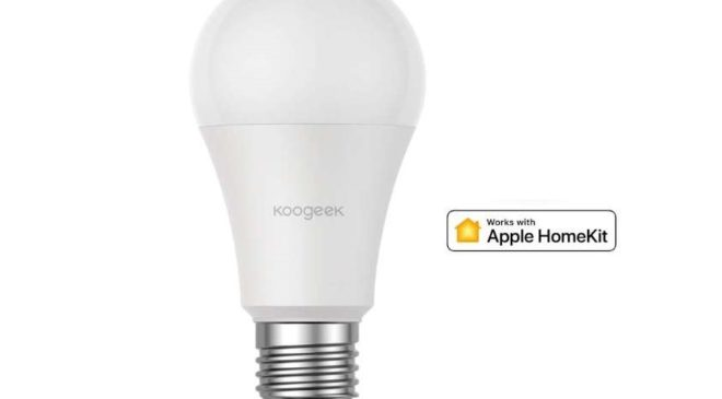 ampoule LED connectée 7W Koogeek Apple Homekit, Amazon Alexa et Google Home