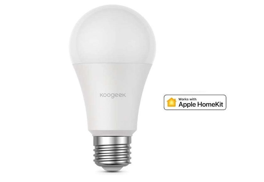 ampoule LED connectée 7W Koogeek Apple Homekit, Amazon Alexa et Google Home