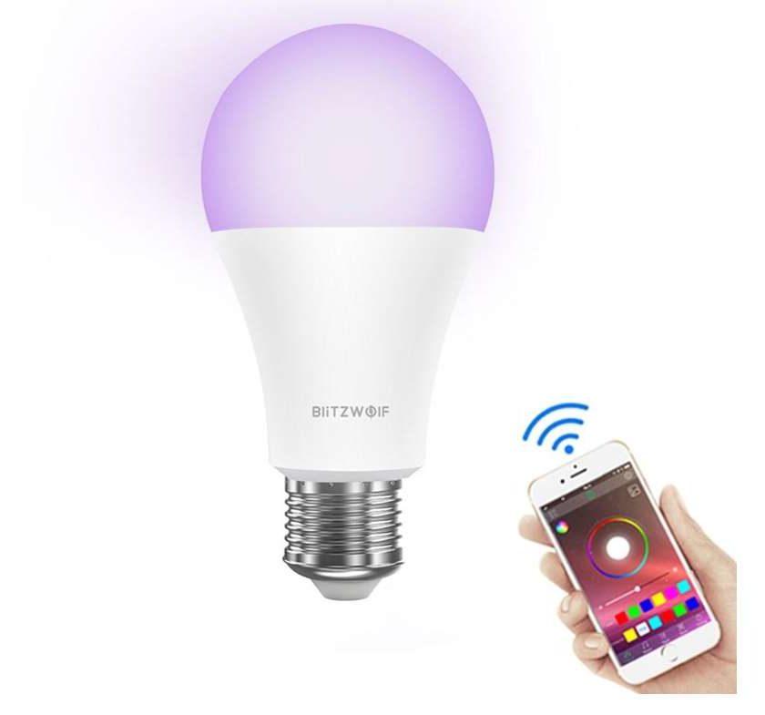 ampoule LED connectée E27 BlitzWolf BW-LT21