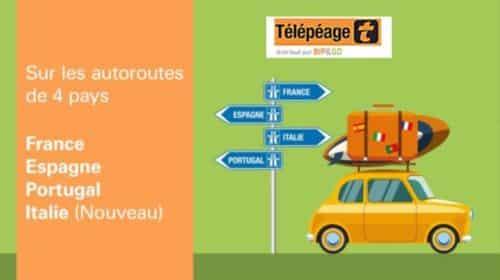 badge télépéage BIP&GO avec frais de mise en service et livraison gratuite