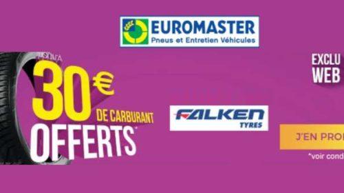 carburant offerts pour l'achat de pneus Falken