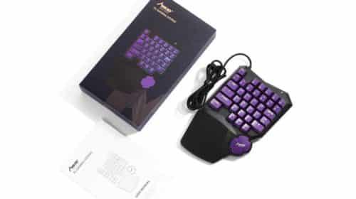 clavier mécanique une main pour gamer MAD GIGA pas cher