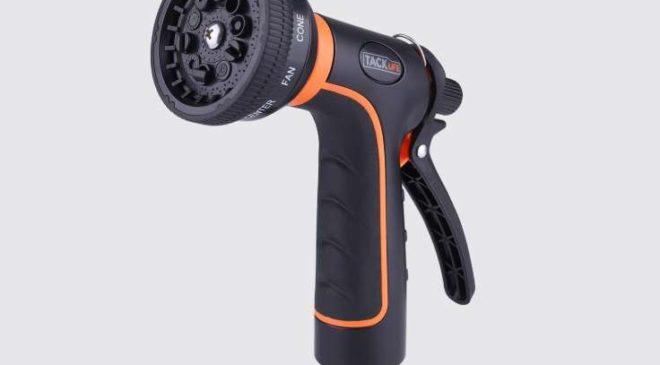 embout pistolet d'arrosage 10 modes de pulvérisation Tacklife GHN1B
