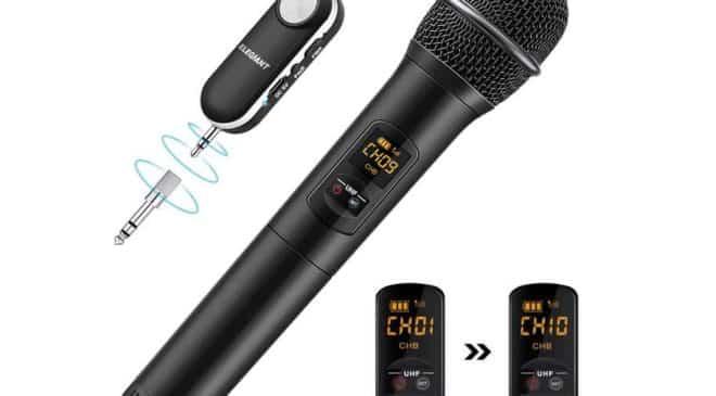 microphone Bluetooth Elegiant
