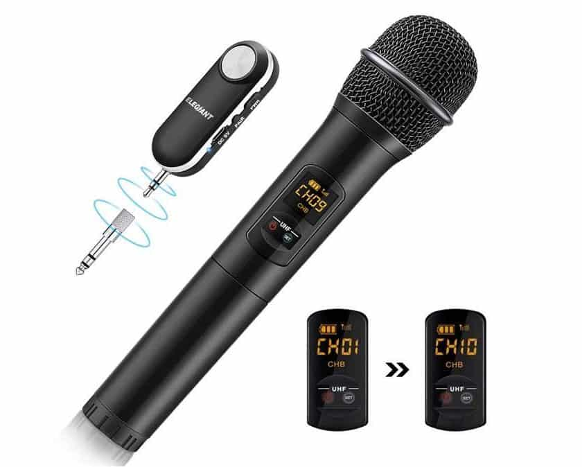 microphone Bluetooth Elegiant