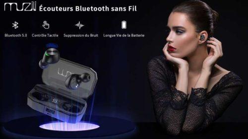 oreillettes Bluetooth Muzili
