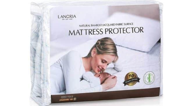 protège matelas imperméable 150x200 Langria
