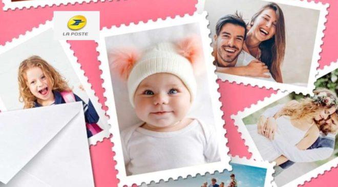 réduction sur les timbres La Poste personnalisables « Mon timbre à moi »