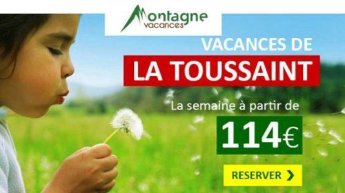 Remise Sur Les Séjours Vacances De La Toussaint De Montagne Vacances