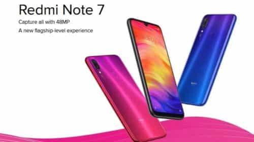 smartphone Redmi Note 7 Xiaomi 128Go