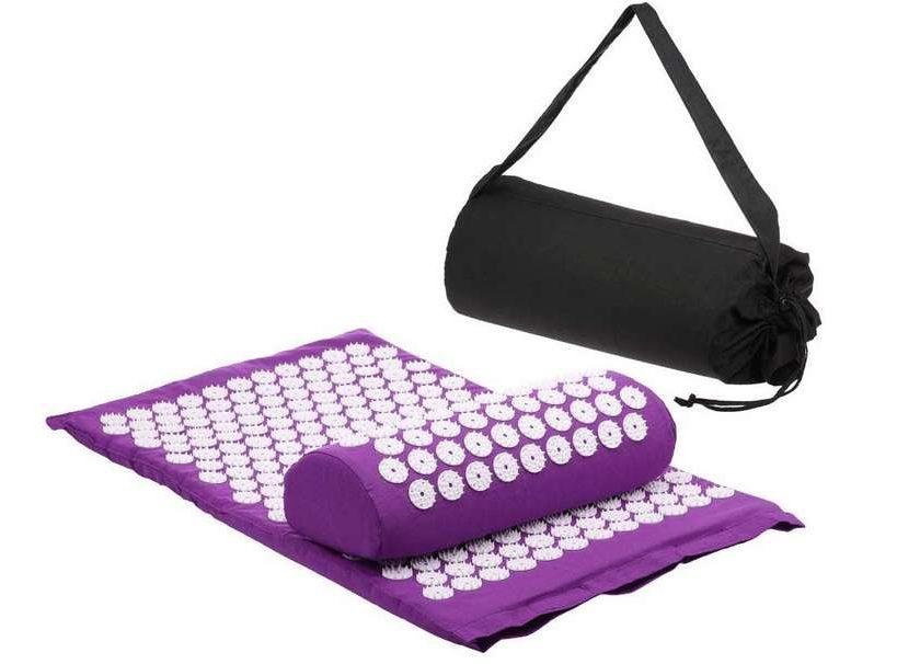 tapis acupression avec coussin de massage Anself
