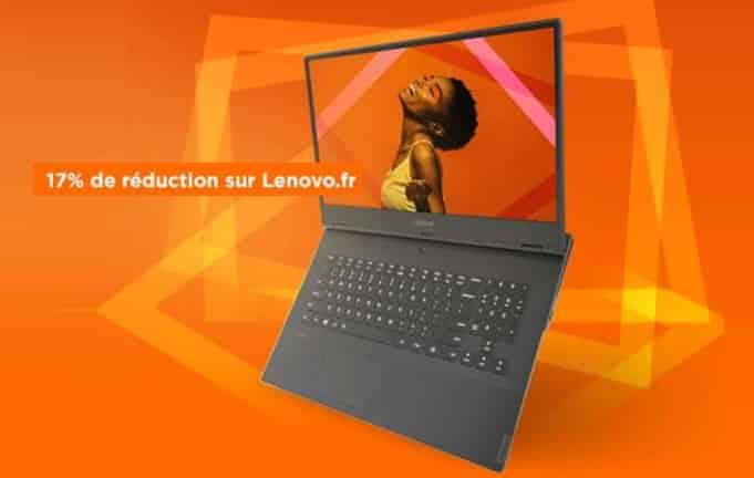 17% de reduction immédiate sur tout le site Lenovo