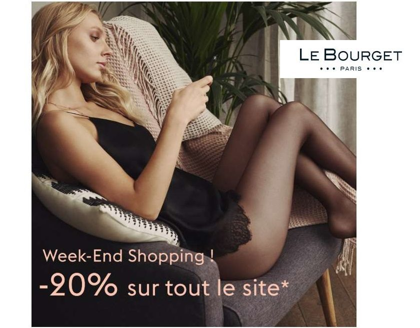 20% de remise sur tout le site Le Bourget