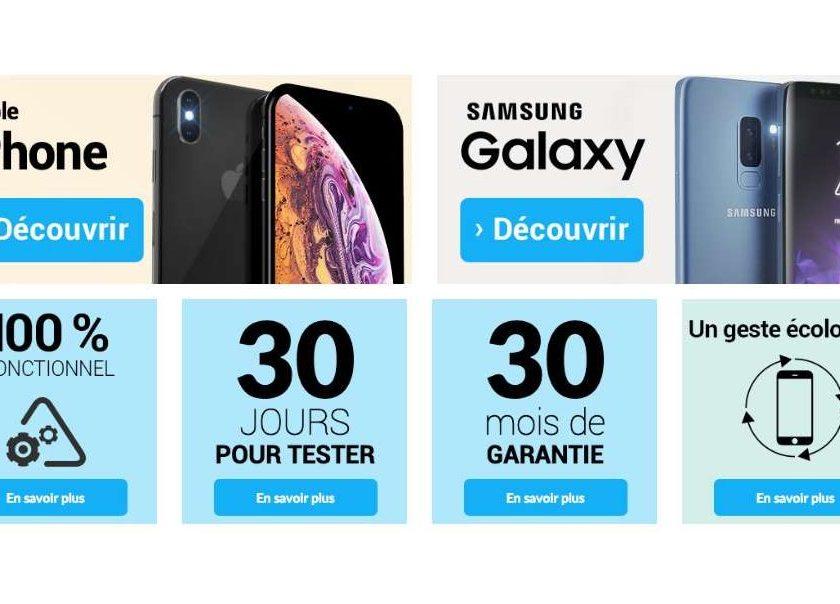 25€ de remise immédiate sur tous les smartphones reconditionnés sur Asgoodasnew