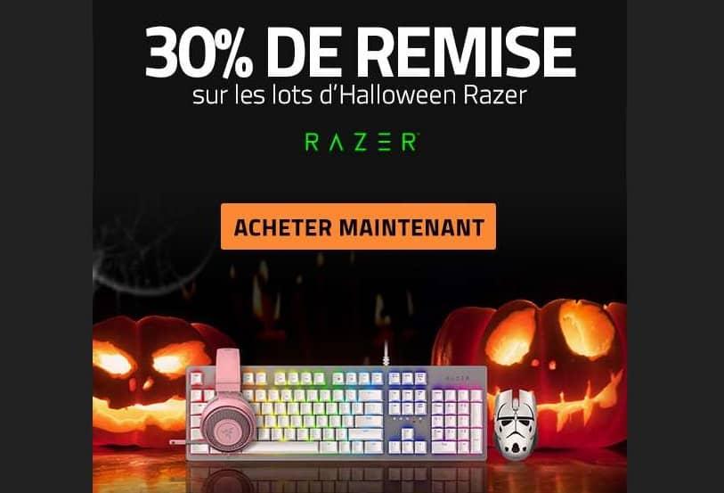 30% de remise sur des lots Halloween Razer