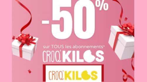 50% de remise sur la méthode programme minceur Croq'Kilos