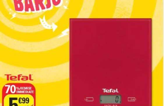 5€ balance de cuisine Tefal Essential 5kg
